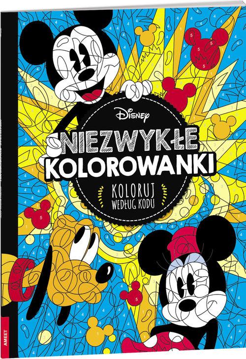 okładka Niezwykłe kolorowanki Koloruj według kodu, Książka  