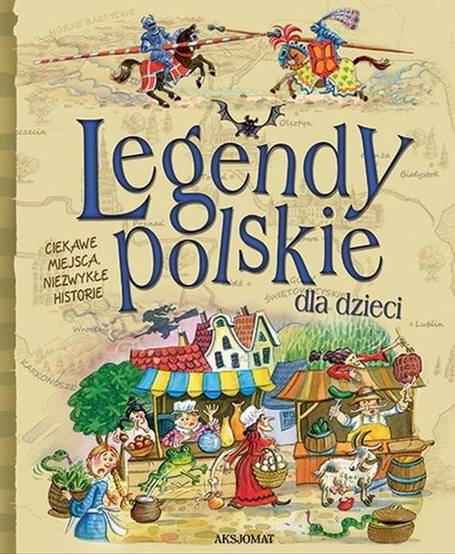 okładka Legendy polskie dla dzieci, Książka  