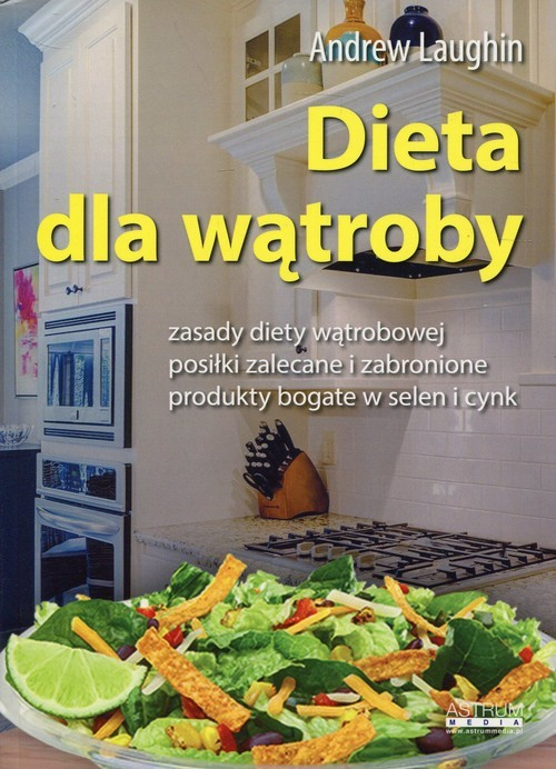 okładka Dieta dla wątroby, Książka | Laughin Andrew