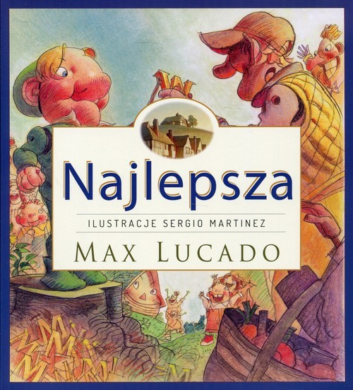 okładka Najlepsza, Książka | Max Lucado