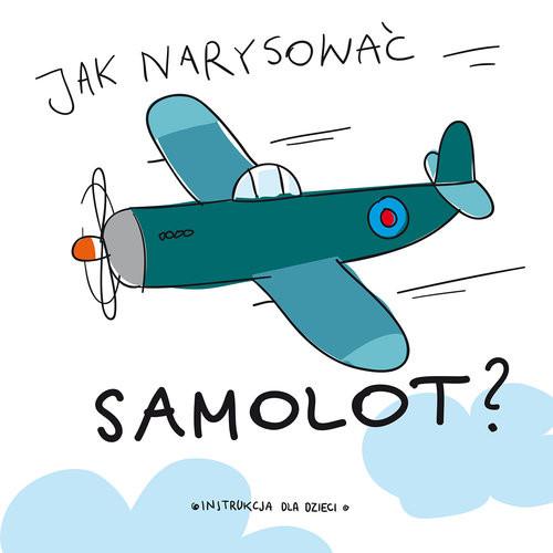 okładka Jak narysować samolot?, Książka |