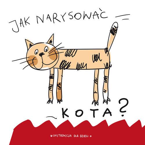 okładka Jak narysować kota?, Książka |