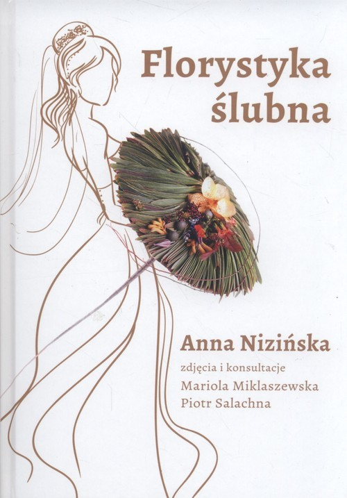 okładka Florystyka ślubna, Książka   Nizińska Anna