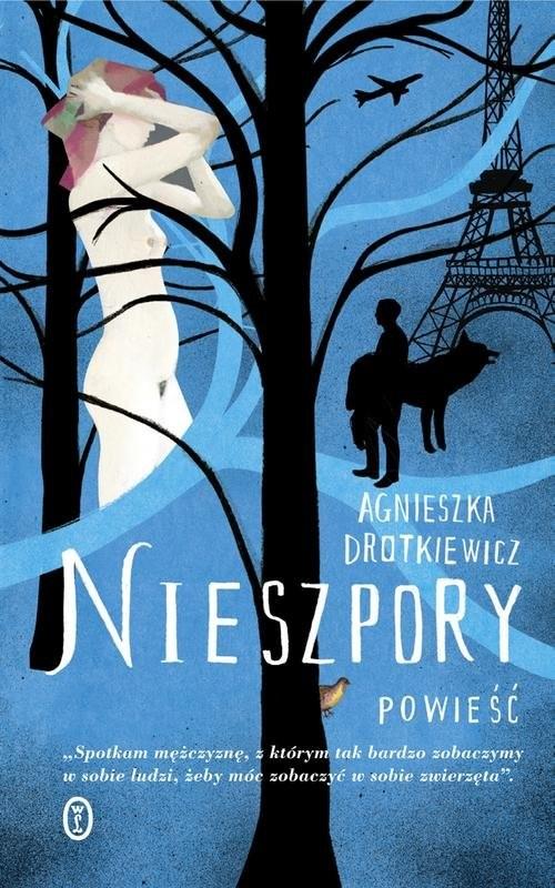 okładka Nieszpory, Książka   Agnieszka Drotkiewicz