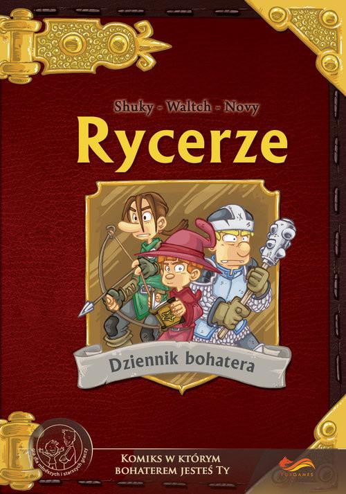 okładka Rycerze Komiksy paragrafowe, Książka | Shuky Shuky