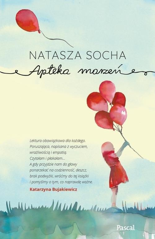 okładka Apteka marzeń, Książka | Socha Natasza