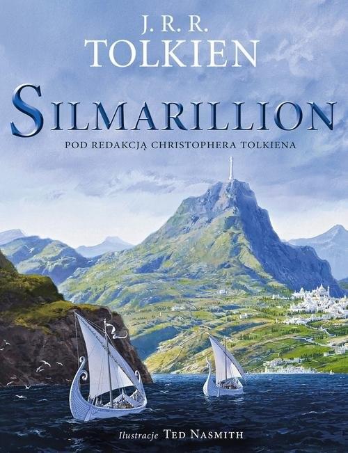okładka Silmarillion Wersja ilustrowana, Książka | Tolkien J.R.R.