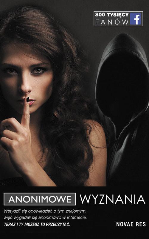 okładka Anonimowe Wyznania, Książka |