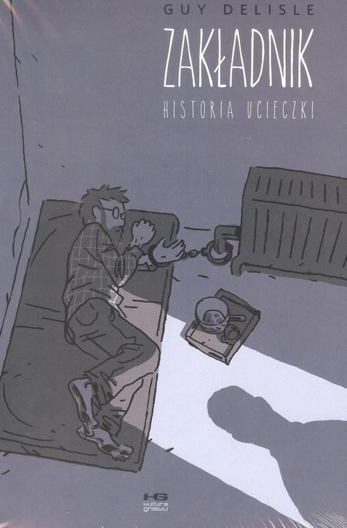 okładka Zakładnik, Książka | Delisle Guy
