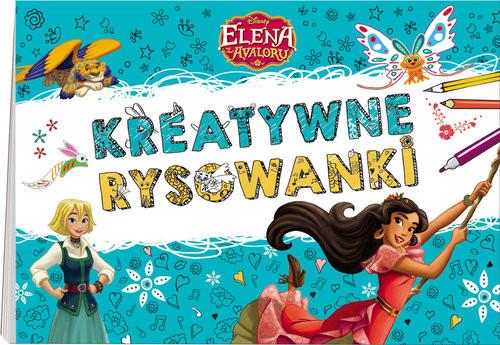 okładka Elena z Avaloru Kreatywne rysowanki NSD-2, Książka |