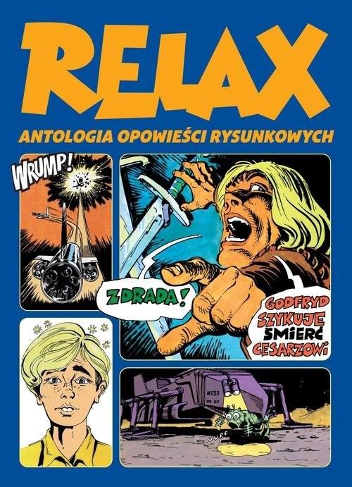 okładka Relax  Antologia opowieści rysunkowych Tom 2książka |  |