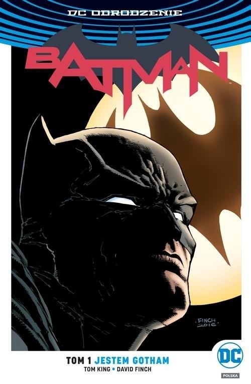 okładka Batman Tom 1 Jestem Gotham, Książka | Tom King, Scott Snyder