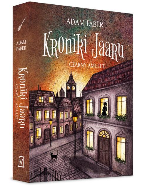 okładka Czarny amulet, Książka | Faber Adam