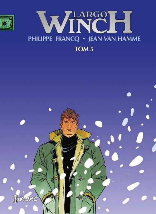 okładka Largo Winch Tom 5 wydanie zbiorcze, Książka | Philippe Francq, Hamme Jean Van