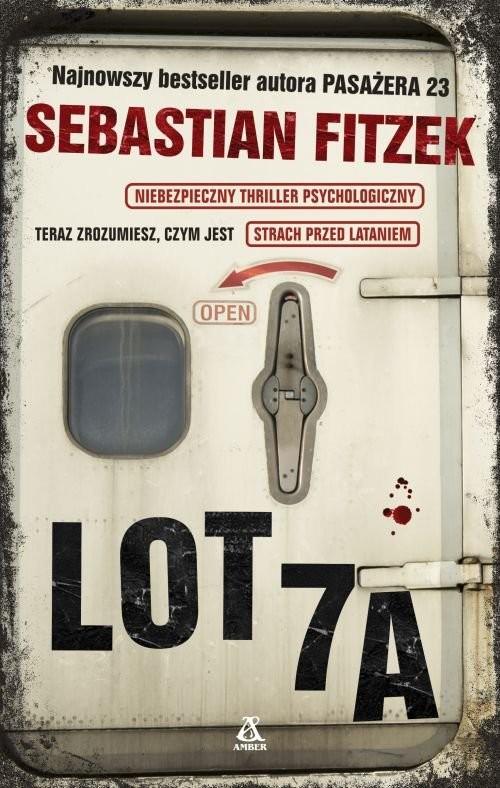 okładka Lot 7A, Książka | Fitzek Sebastian