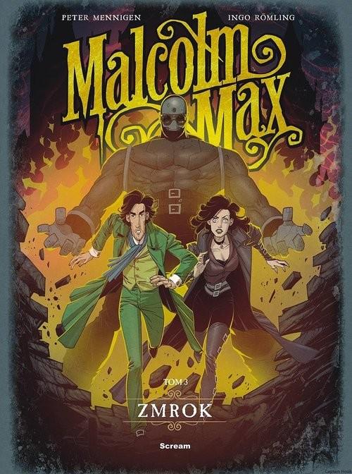 okładka Malcolm Max Tom 3 Zmrok, Książka   Praca Zbiorowa