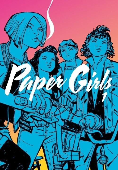 okładka Paper Girls 1, Książka | Brian K. Vaughan, Cliff Chiang