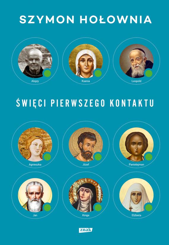 okładka Święci pierwszego kontaktu, Książka | Hołownia Szymon