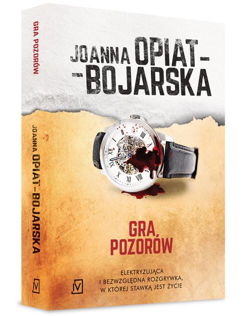 okładka Gra pozorów, Książka | Opiat-Bojarska Joanna