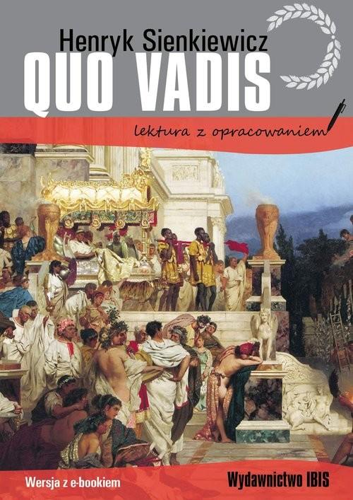 okładka Quo vadis lektura z opracowaniem, Książka | Henryk Sienkiewicz
