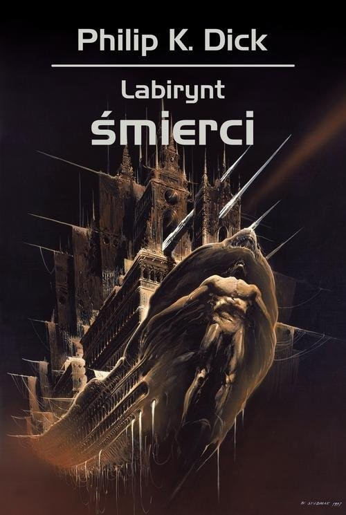 okładka Labirynt śmierci, Książka | Philip K. Dick