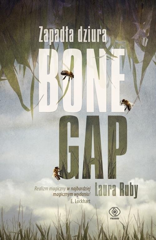 okładka Zapadła dziura Bone Gap. KsiążkaRuby Laura