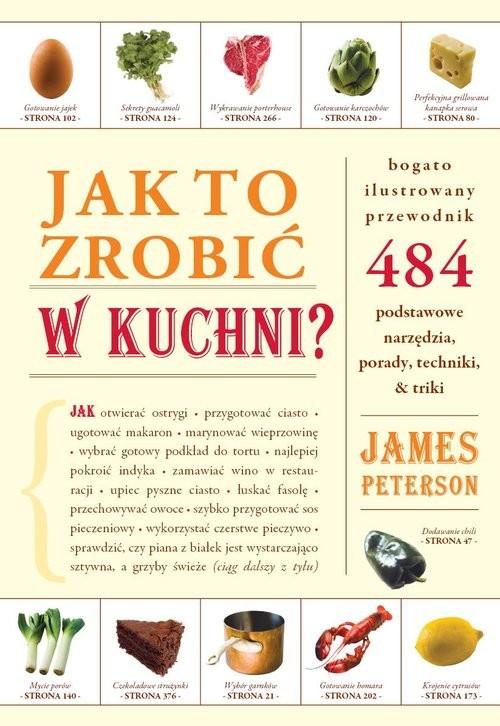 okładka Jak to zrobić w kuchni?, Książka | Peterson James