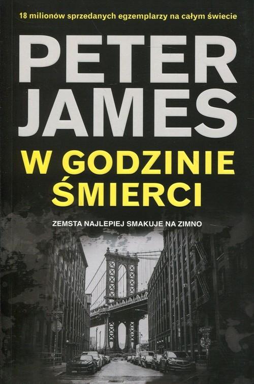 okładka W godzinie śmierci Zemsta najlepiej smakuje na zimno, Książka | Peter James