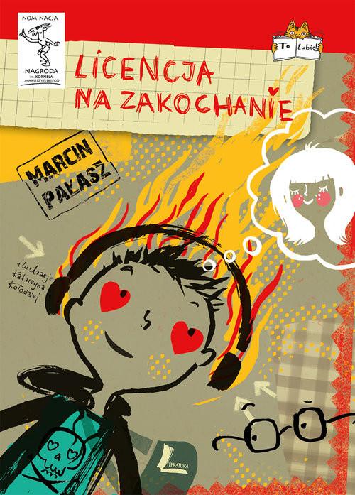 okładka Licencja na zakochanie, Książka | Pałasz Marcin