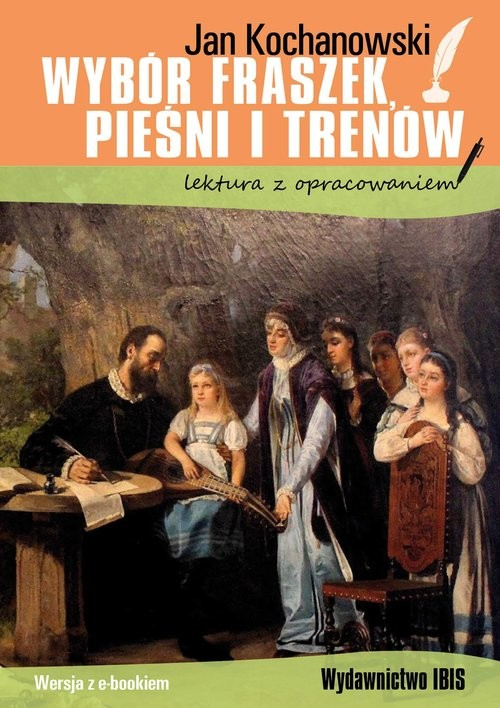 okładka Wybór fraszek, pieśni i trenów, Książka | Kochanowski Jan