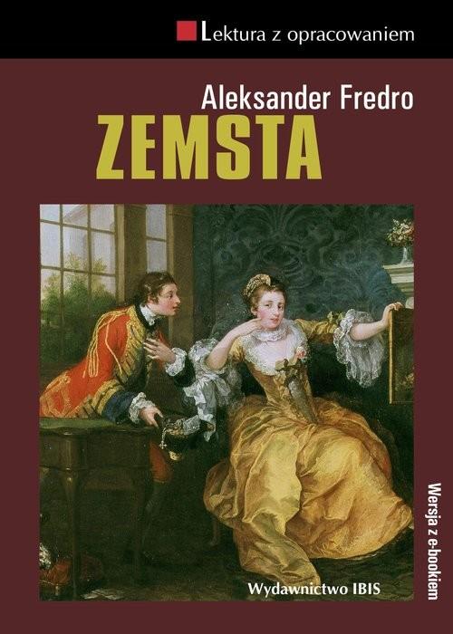okładka Zemsta Lektura z opracowaniem, Książka | Aleksander Fredro