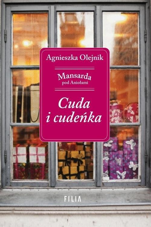 okładka Cuda i cudeńka, Książka | Agnieszka Olejnik