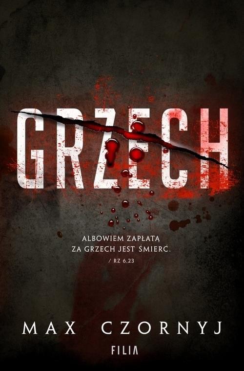 okładka Grzech, Książka | Czornyj Max