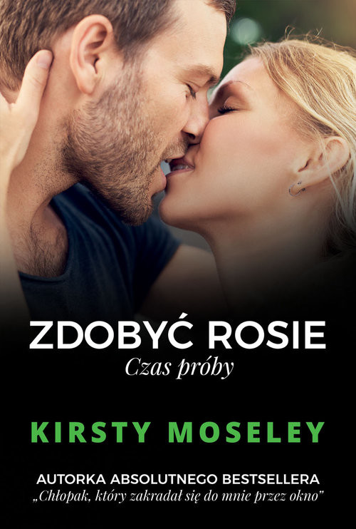 okładka Zdobyć Rosie Czas próbyksiążka      Kirsty Moseley