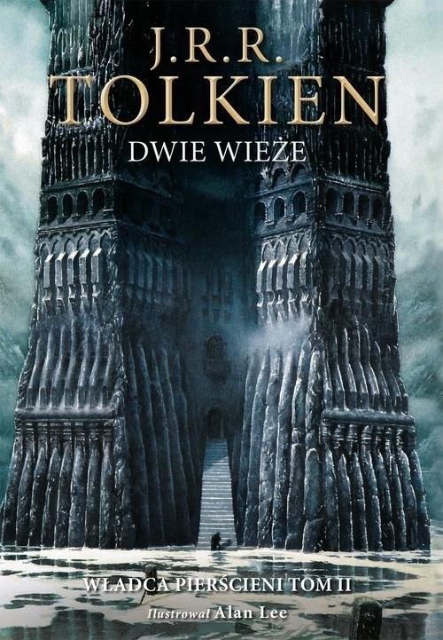okładka Dwie wieże Wersja ilustrowana, Książka | Tolkien J.R.R.