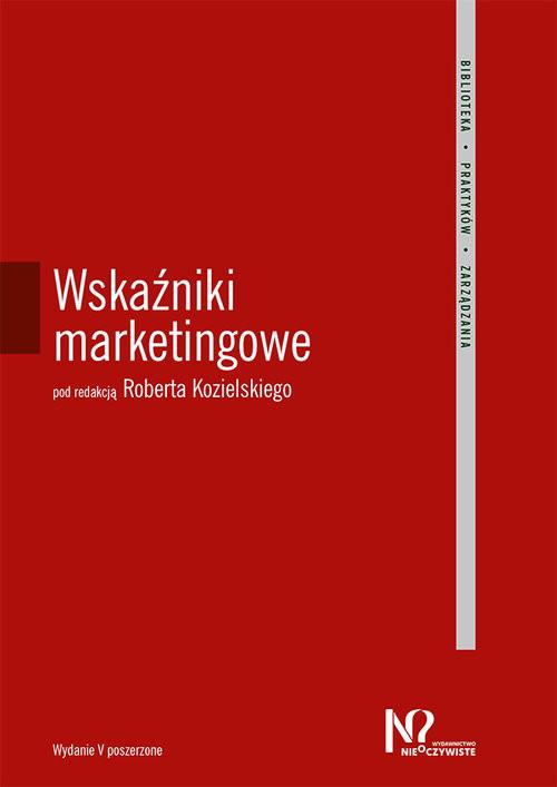 okładka Wskaźniki marketingowe, Książka |