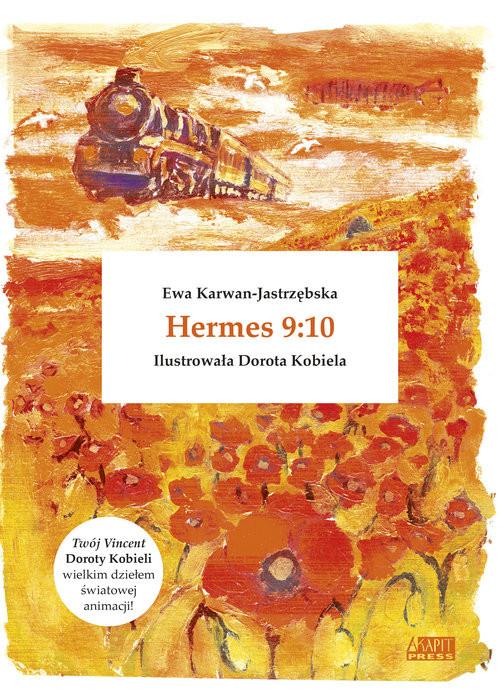 okładka Hermes 9:10, Książka | Ewa Karwan-Jastrzębska