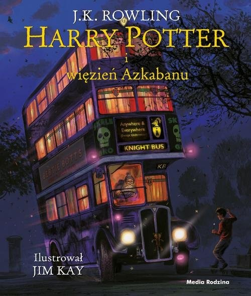 okładka Harry Potter i więzień Azkabanu ilustrowanyksiążka |  | Joanne K. Rowling