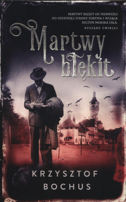 okładka Martwy błękit, Książka | Bochus Krzysztof