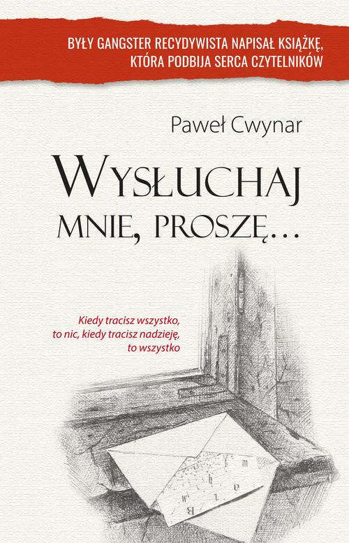 okładka Wysłuchaj mnie, proszę..., Książka | Paweł Cwynar