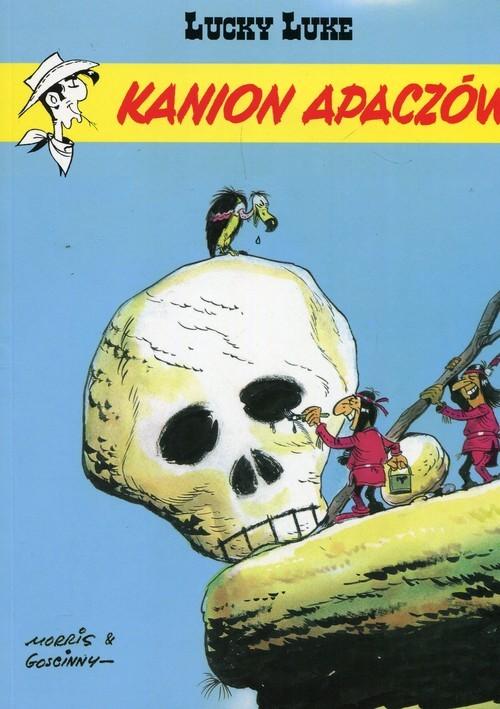 okładka Lucky Luke Kanion Apaczów Tom 37. KsiążkaGoscinny Rene