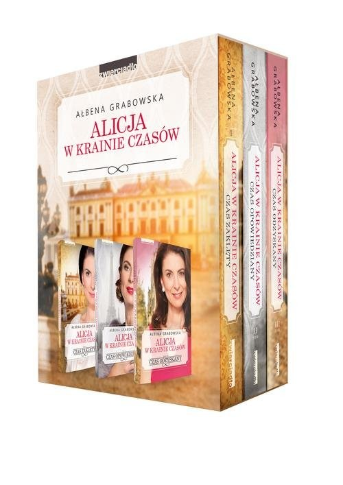 okładka Alicja w krainie czasów. Tom 1-3 pakiet, Książka | Ałbena  Grabowska