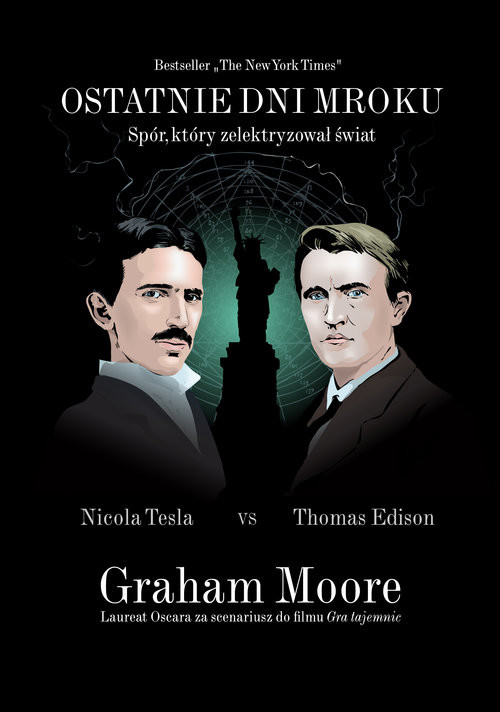 okładka Ostatnie dni mrokuksiążka      Graham Moore