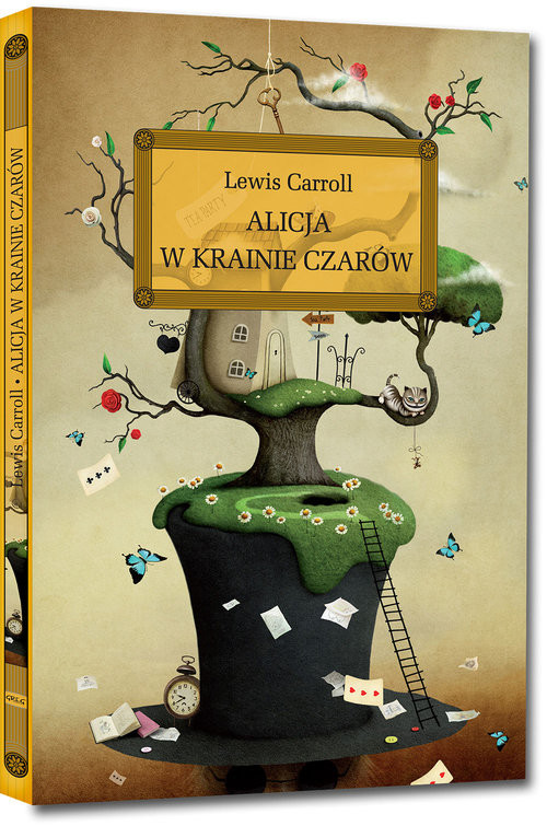 okładka Alicja w Krainie Czarów, Książka | Lewis Carroll