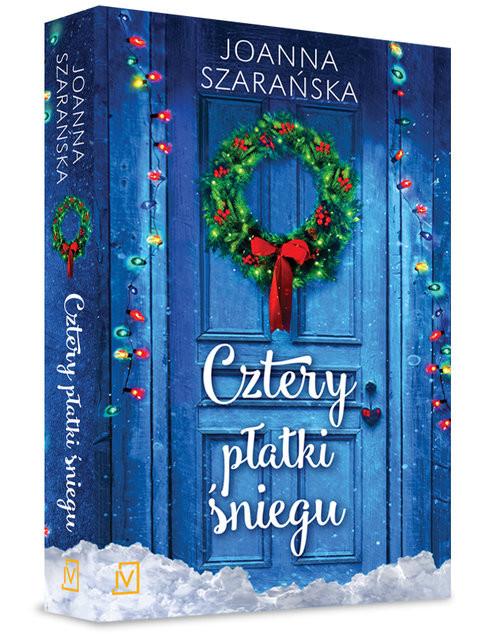 okładka Cztery płatki śniegu, Książka   Joanna  Szarańska