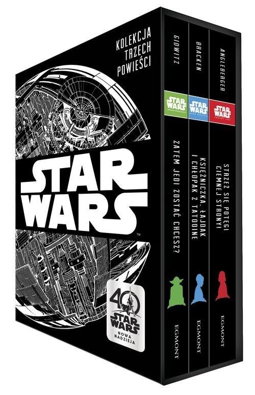 okładka Star Wars Kolekcja 3 powieści, Książka | Tom Angleberger, Alexandra Bracken, A Glowitz