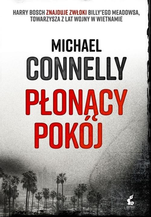 okładka Płonący pokój, Książka | Connelly Michael