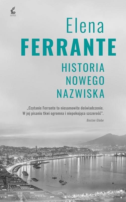 okładka Cykl neapolitański 2 Historia nowego nazwiska, Książka | Elena Ferrante