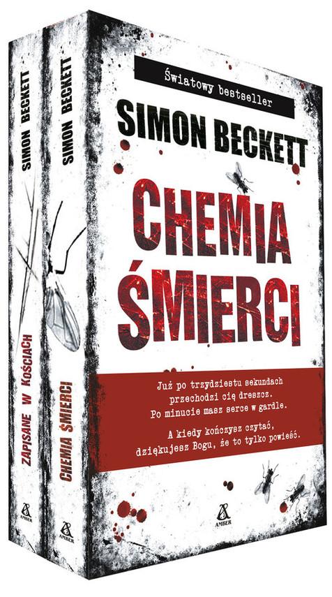 okładka Chemia śmierci/ Zapisane w kościach Pakiet, Książka | Beckett Simon