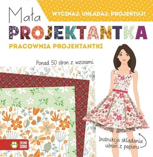 okładka Mała projektantka Pracownia projektantki, Książka  